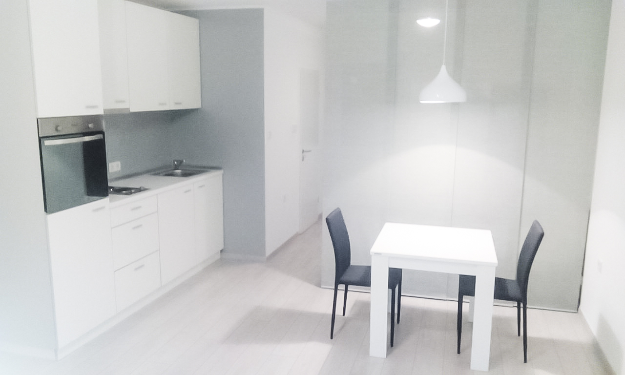 Pure White living space